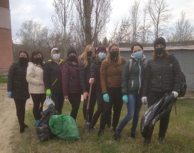 Весняна толока 2021: Каховська МТГ стала більш чистою та охайною, Каховские новости