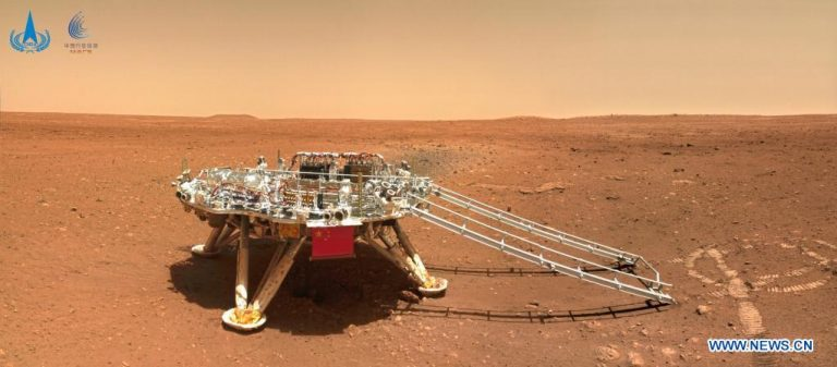 Китайский аппарат проехал на Марсе уже более 400 метров | Новости Николаев